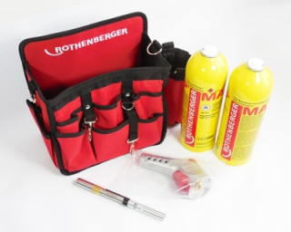 Promo HOT BAG Turbo hořák Super Fire 3, 2x MAPP, Rothenberger