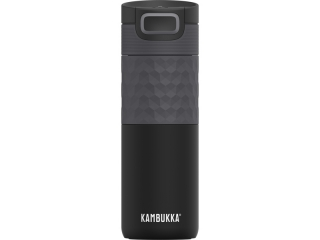 Termohrnek Etna Grip 500 ml Black Steel Kambukka