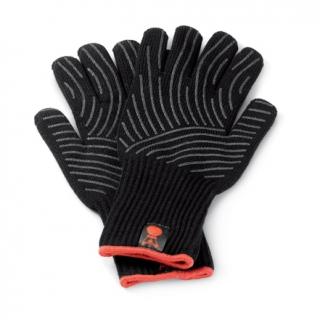 8ed2d3b65af Weber Grilovací rukavice Premium S M kevlarové   silikon